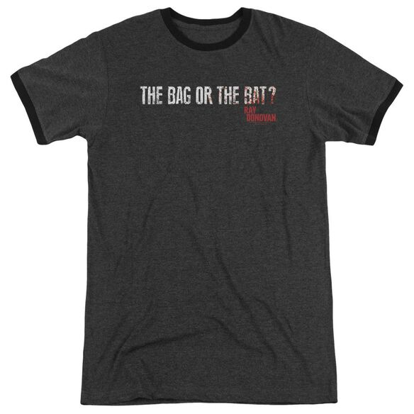 Ray Donovan Bag Or Bat Adult Heather Ringer Charcoal