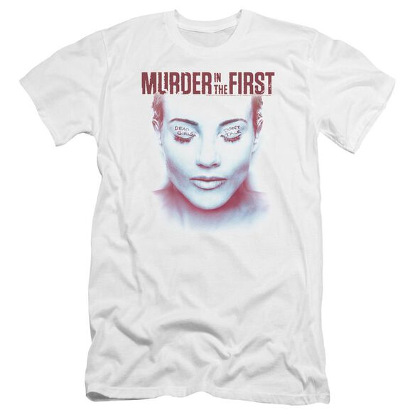 Murder In The First Don't Talk Premuim Canvas Adult Slim Fit