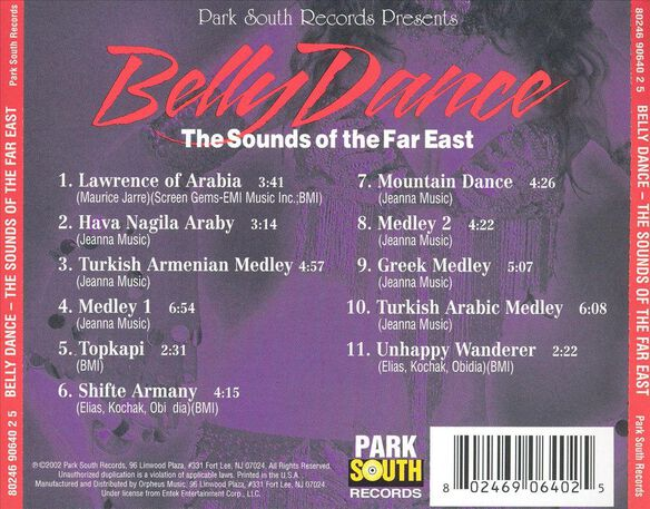 Belly Dance Sounds Of Far
