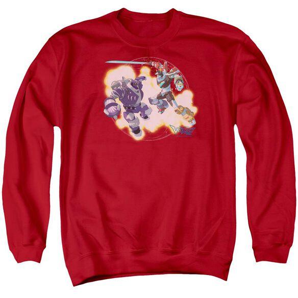 Voltron Robeast Adult Crewneck Sweatshirt