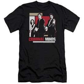Criminal Minds Guns Drawn-premuim Canvas