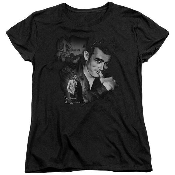 Dean Mischevious Large Short Sleeve Womens Tee T-Shirt