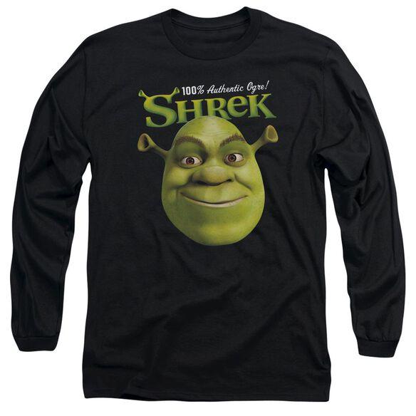 Shrek Authentic Long Sleeve Adult T-Shirt