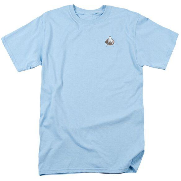 Star Trek Tng Science Emblem Short Sleeve Adult Slate T-Shirt