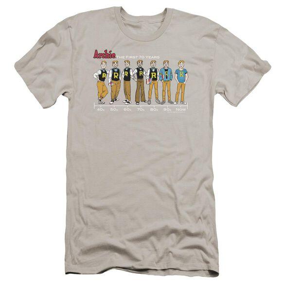 Archie Comics Archie Timeline Premuim Canvas Adult Slim Fit