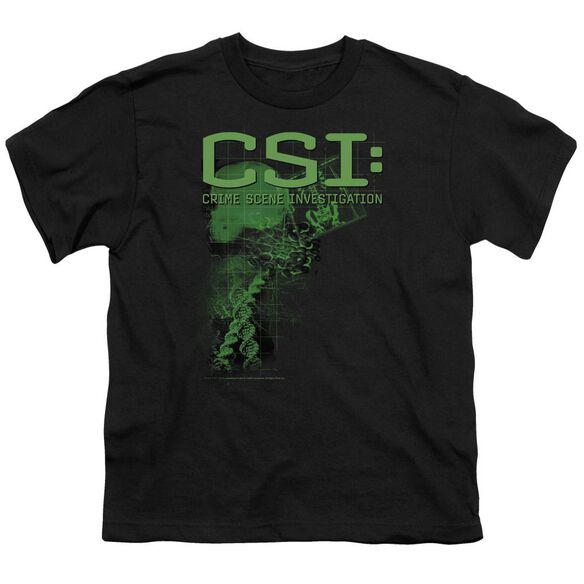 CSI EVIDENCE - S/S YOUTH 18/1 - BLACK T-Shirt
