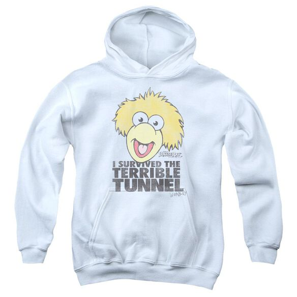 Fraggle Rock Terrible Tunnel Youth Pull Over Hoodie
