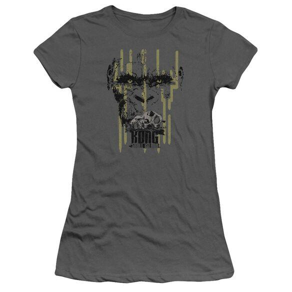 Kong Skull Island Eyes Hbo Short Sleeve Junior Sheer T-Shirt