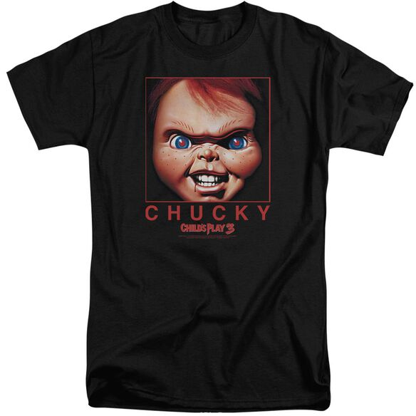 Childs Play 3 Chucky Squared Short Sleeve Adult Tall T-Shirt
