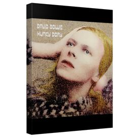 David Bowie Hunky Dory Canvas Wall Art With Back Board