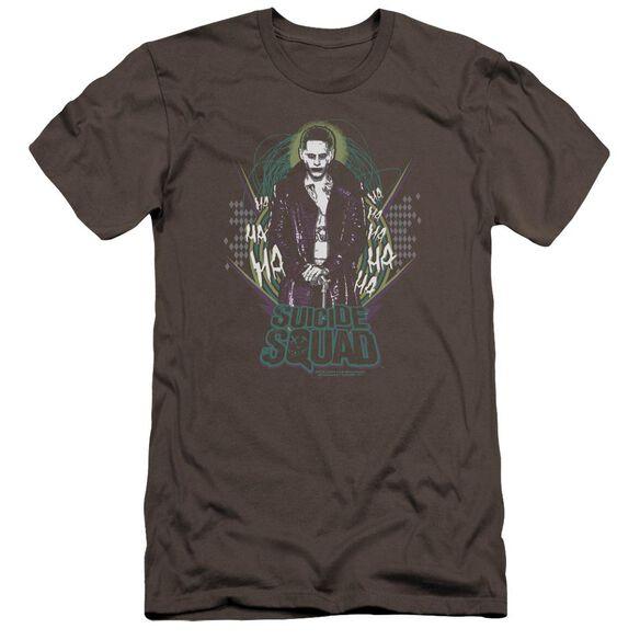 Suicide Squad Suicide Joker Premuim Canvas Adult Slim Fit