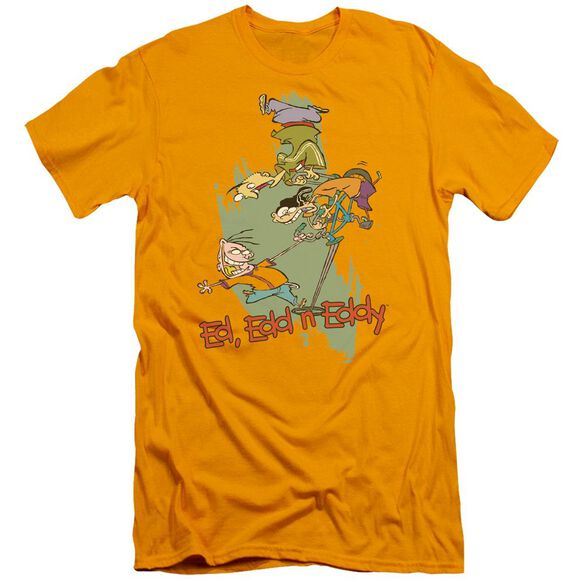 Ed Edd N Eddy Free Fall Short Sleeve Adult T-Shirt