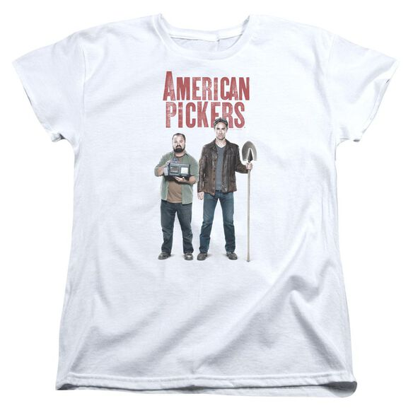 American Pickers American Profit Short Sleeve Womens Tee T-Shirt