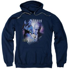 Farscape Zhaan Adult Pull Over Hoodie