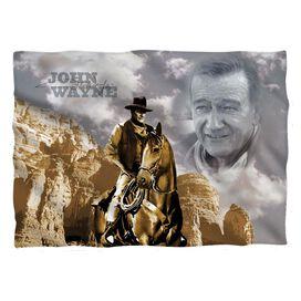 John Wayne Ride Em Cowboy Pillow Case White