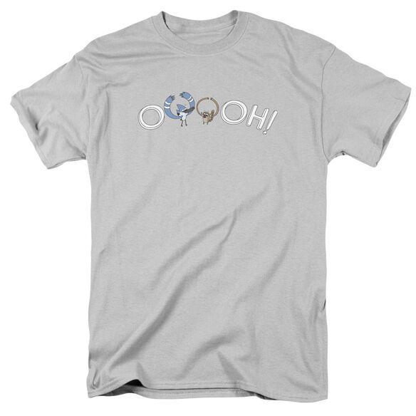 The Regular Show Ooooh Short Sleeve Adult T-Shirt