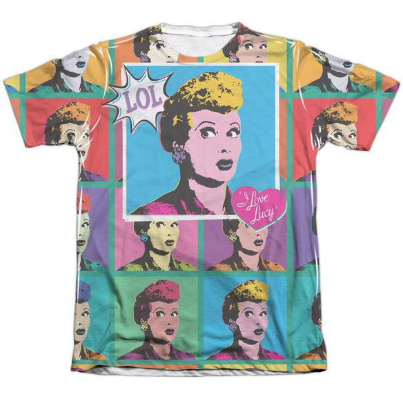 I Love Lucy Lol Adult Poly Cotton Short Sleeve Tee T-Shirt
