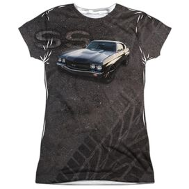 Chevrolet Muscle Chevelle Ss Short Sleeve Junior Poly Crew T-Shirt