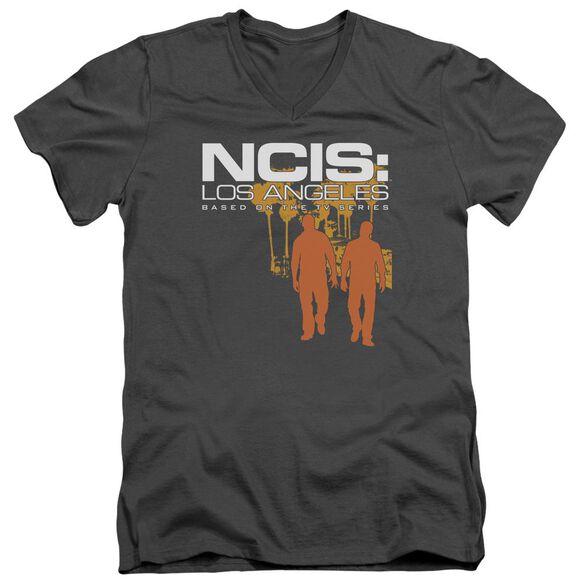 Ncis:La Slow Walk Short Sleeve Adult V Neck T-Shirt