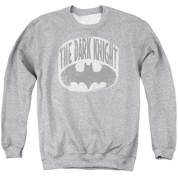 Batman Dark Knight Shield Adult Crewneck Sweatshirt Athletic