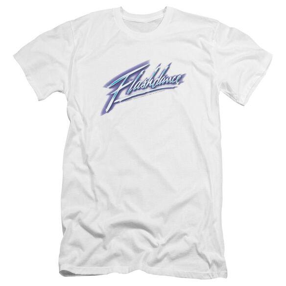 Flashdance Logo Premuim Canvas Adult Slim Fit