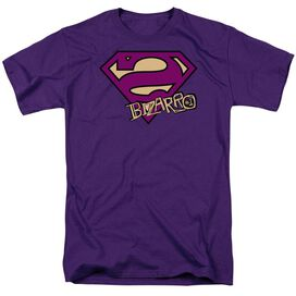 SUPERMAN BIZARRO SHIELD - S/S ADULT 18/1 T-Shirt