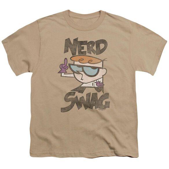 Dexter's Laboratory Nerd Swag Short Sleeve Youth T-Shirt