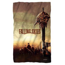 Falling Skies Skitter Head Fleece Blanket