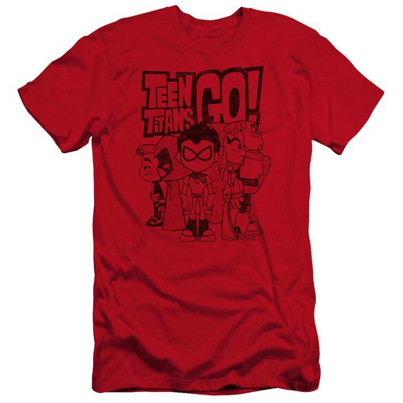 Teen Titans Go Team Up Hbo Short Sleeve Adult T-Shirt