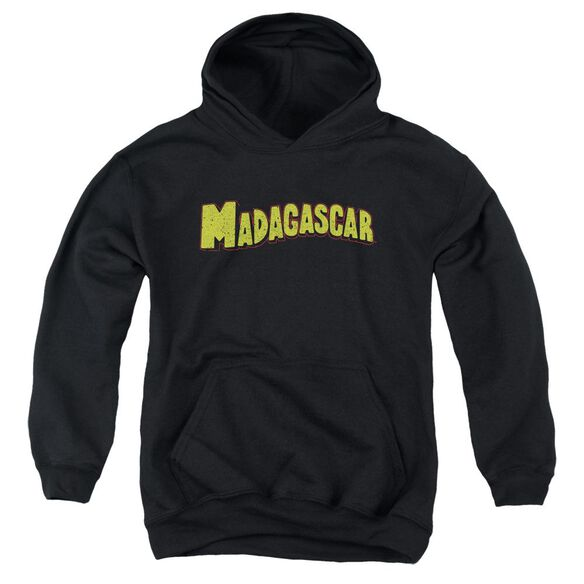 Madagascar Logo Youth Pull Over Hoodie