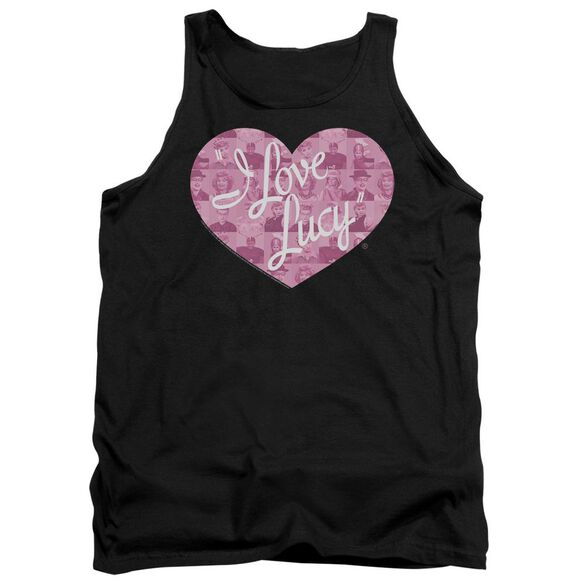 I Love Lucy Many Moods Logo Adult Tank