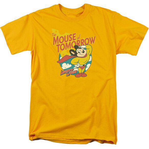 Mighty Mouse Mouse Of Tomorrow Short Sleeve Adult T-Shirt