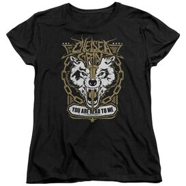 Chelsea Grin You Are Dead To Me Short Sleeve Women's Tee Black T-Shirt