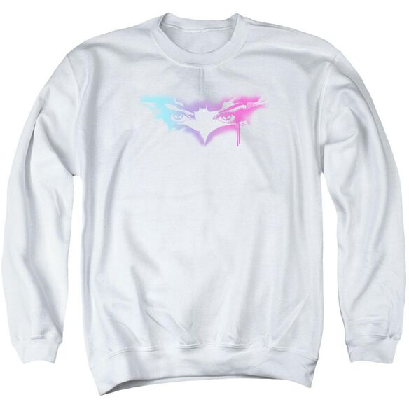 Dark Knight Rises Spray Cat Adult Crewneck Sweatshirt