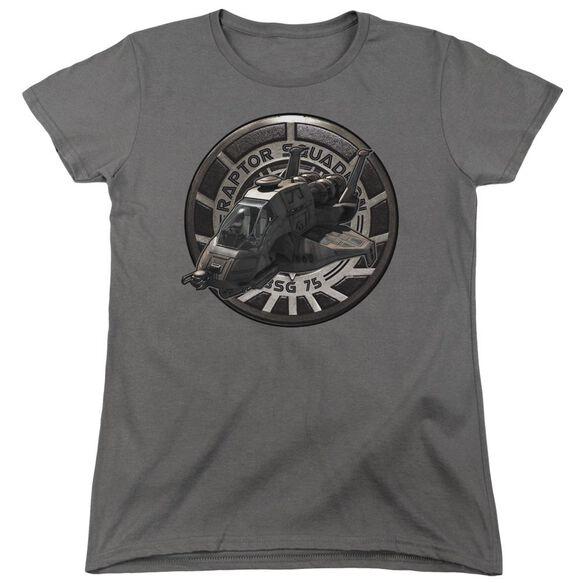 Bsg Raptor Squadron Short Sleeve Women's Tee T-Shirt