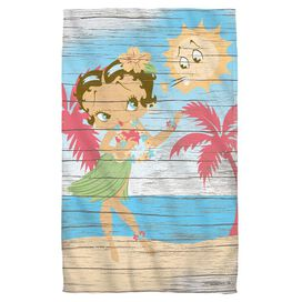 Betty Boop Hula Boop Face Hand Towel