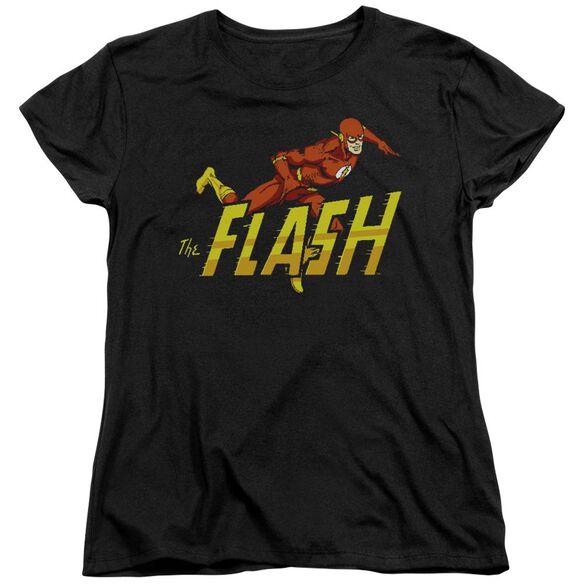 Dc Flash 8 Bit Flash Short Sleeve Womens Tee T-Shirt