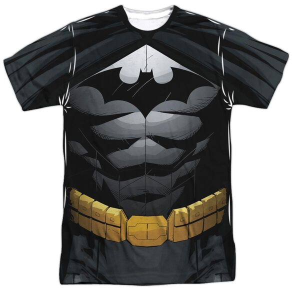 Batman Uniform Short Sleeve Adult Poly Crew T-Shirt