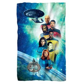 Star Trek 30 Crew Fleece Blanket
