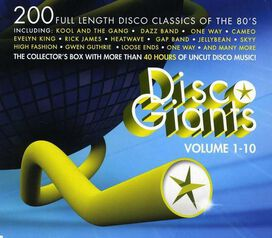 Various Artists - Disco Giants, Vol. 1-10