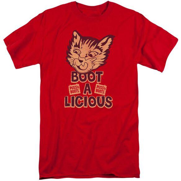 Puss N Boots Boot A Licious Short Sleeve Adult Tall T-Shirt