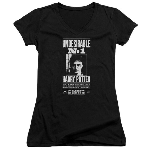 Harry Potter Undesirable No 1 Junior V Neck T-Shirt