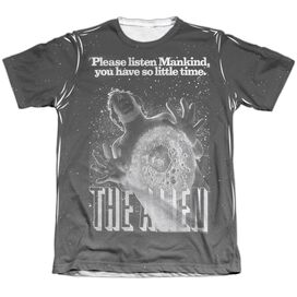 ALIEN VINTAGE FEAR-ADULT POLY/COTTON T-Shirt