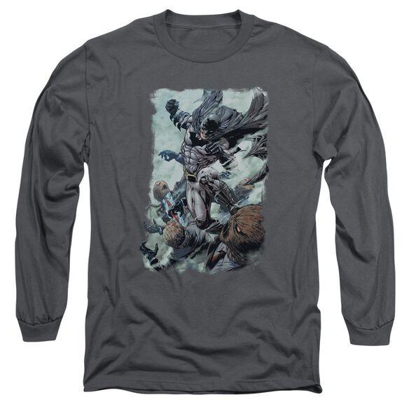 Batman Punch Long Sleeve Adult T-Shirt