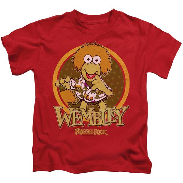 Fraggle Rock Wembley Circle Short Sleeve Juvenile T-Shirt
