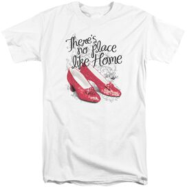 Wizard Of Oz Ruby Slippers Short Sleeve Adult Tall T-Shirt