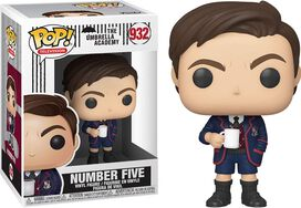 FUNKO POP! TELEVISION: Umbrella Academy - Number Five (Styles May Vary)