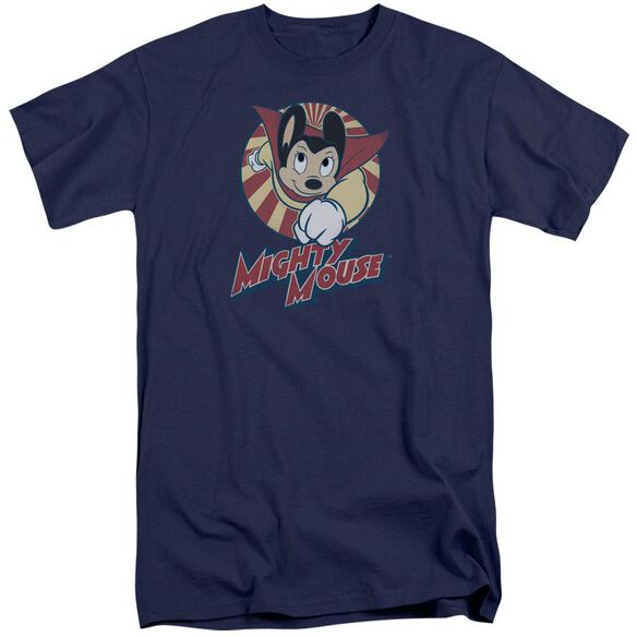 Mighty Mouse The One The Only Short Sleeve Adult Tall T-Shirt