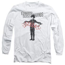 EDWARD SCISSORHAND HOW & TELL-L/S T-Shirt