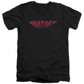 Journey Perspective Logo Short Sleeve Adult V Neck T-Shirt
